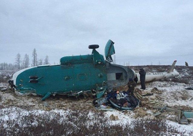 IAC:在俄亞馬爾墜毀的米-8因天氣狀況未能補充油量