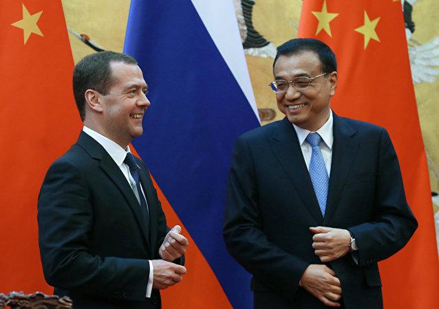 俄中两国总理