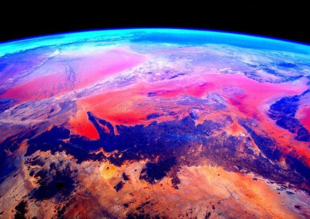 宇航員斯科特·凱利從國際空間站拍攝的地球照片