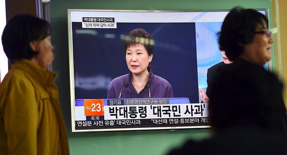 韩国总统府前秘书因涉嫌受贿作证
