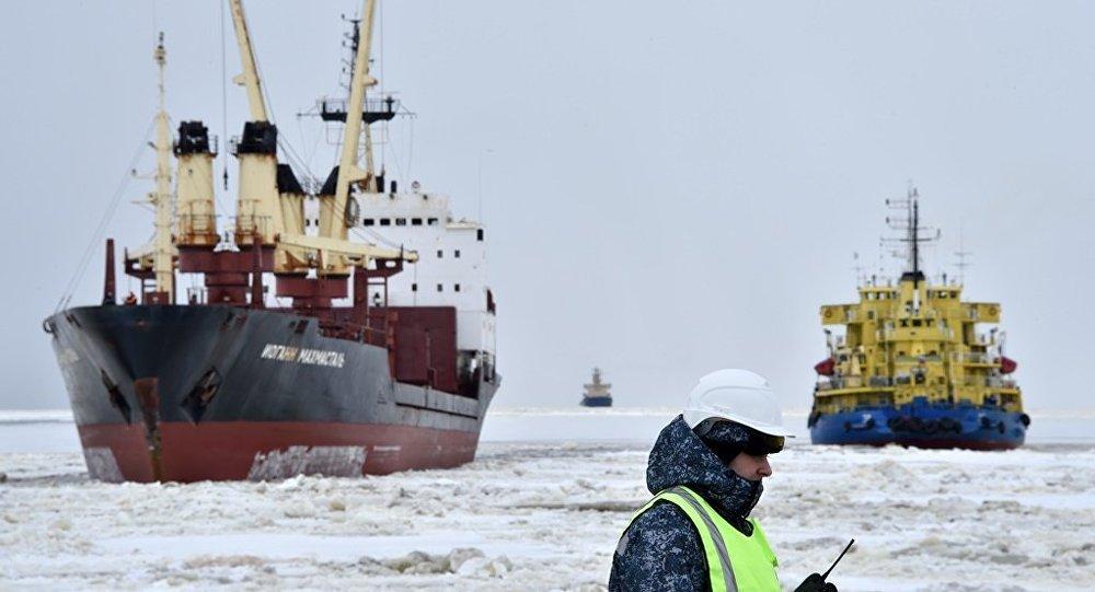 专家:北方海路的经济价值未来将很快得到体现