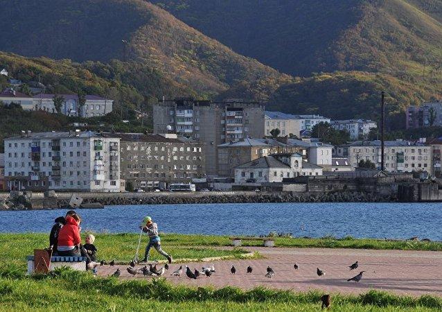 俄萨哈林和日本北海道重新开通轮渡