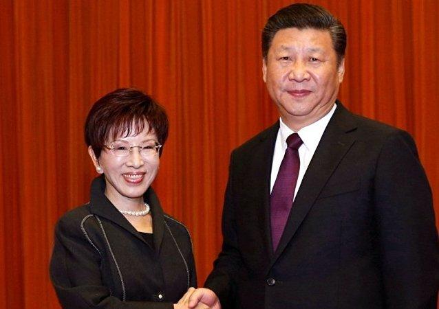 共国两党共同寻求台湾海峡稳定的途径
