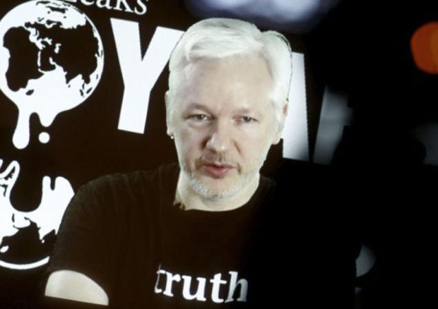 维基解密否认阿桑奇试图获得俄罗斯签证的消息