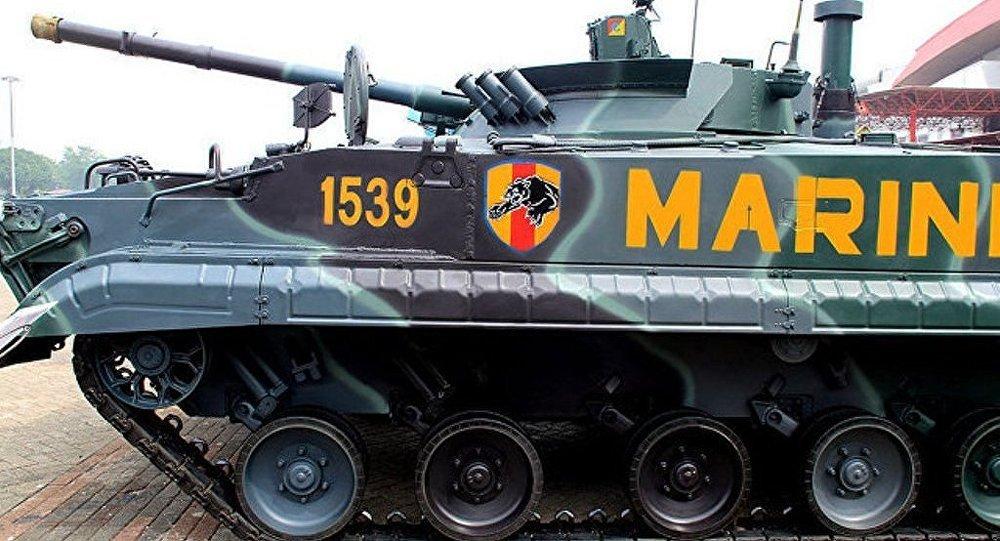 俄國防出口公司:俄與印尼簽訂BT-3F步戰車供應合同