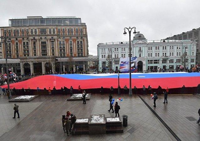 俄羅斯人稱普京的主要成就是恢復俄羅斯的大國地位
