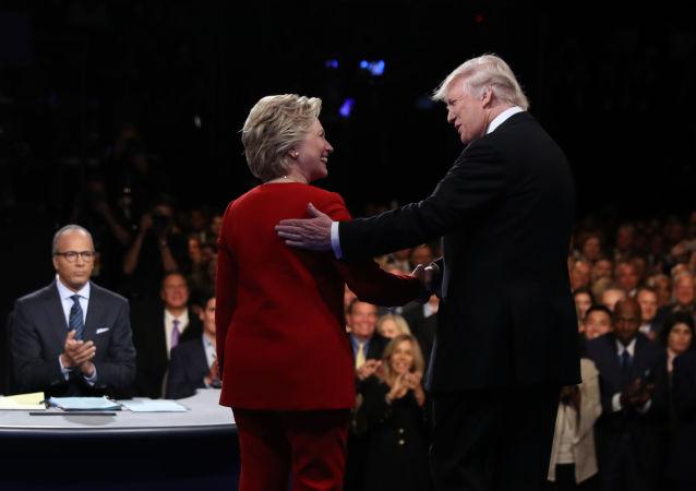 特朗普与希拉里·克林顿