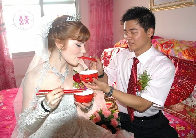 中俄通婚数量越来越多