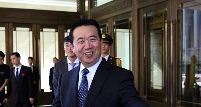 中国人首次被选为国际刑警组织主席