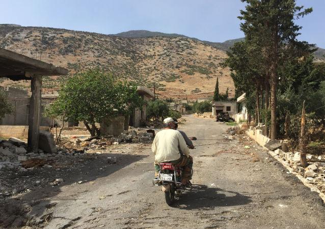 敘利亞人使用一些能夠獲得的原料在家生產葡萄酒