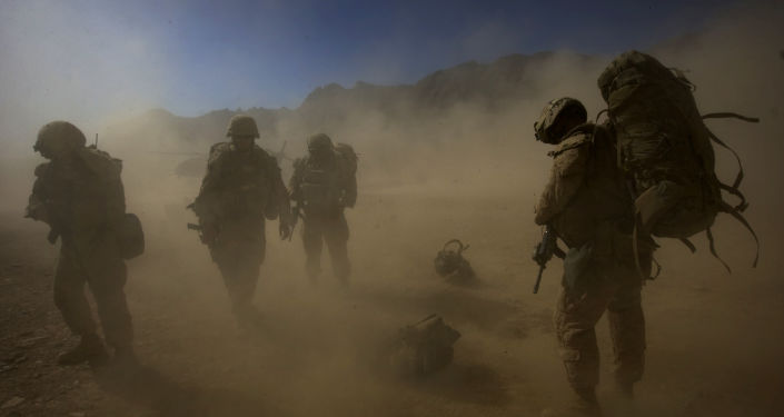 美国军人在阿富汗/资料图片/