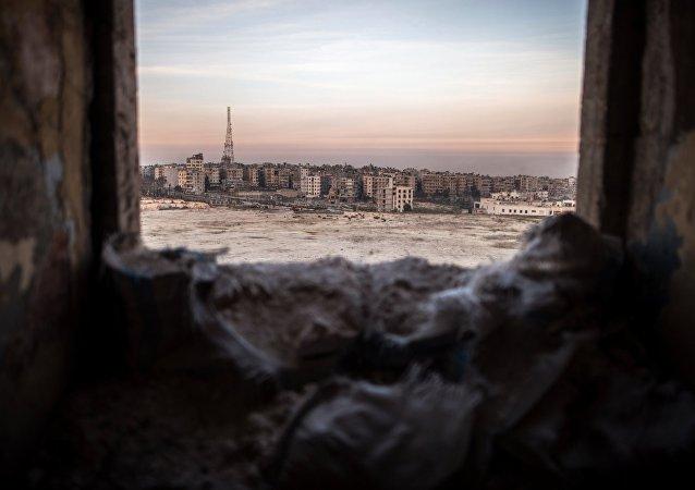 消息人士:武裝分子轟炸阿勒頗居民區 4名公民喪生