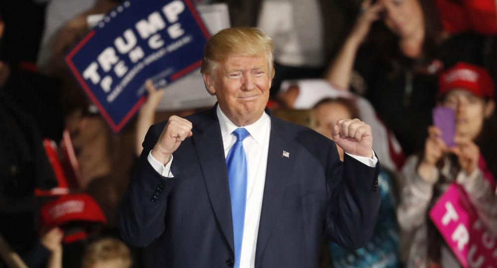 特朗普称胜选归功于辩论、演讲和支持者