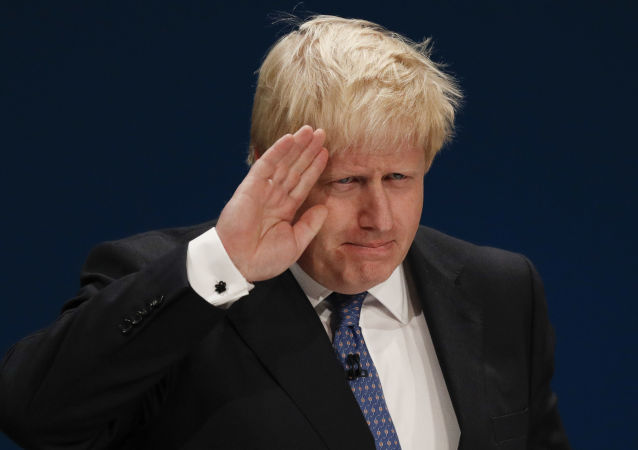英國外長鮑里斯·約翰遜
