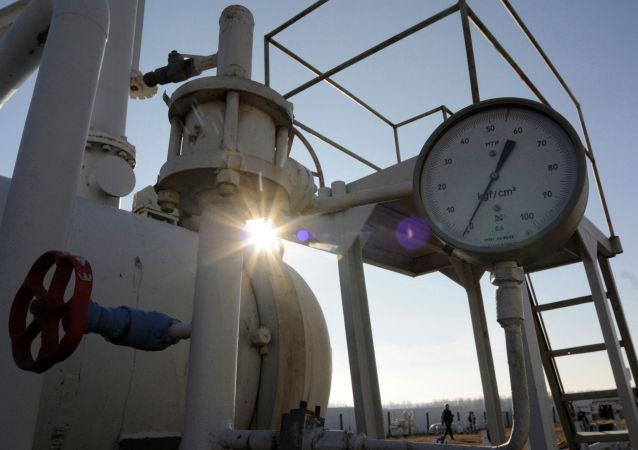 乌克兰的天然气管道