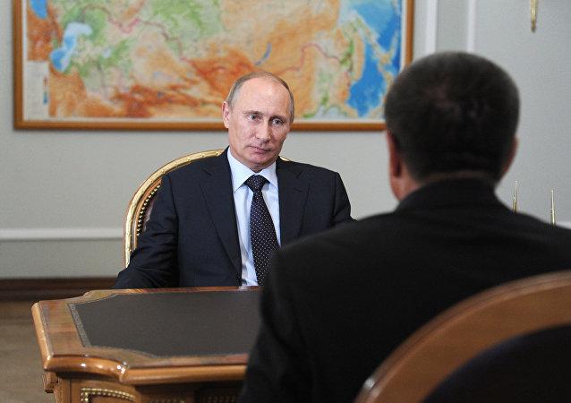 克宫:普京从头至尾了解对经济发展部长的调查情况