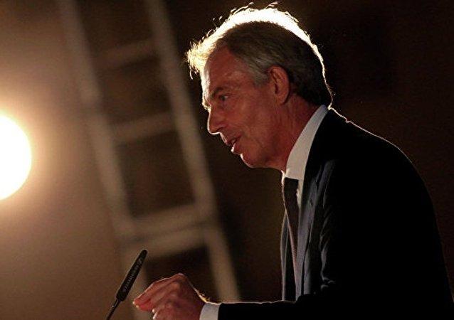 英国前首相否认有关计划加入特朗普团队的说法