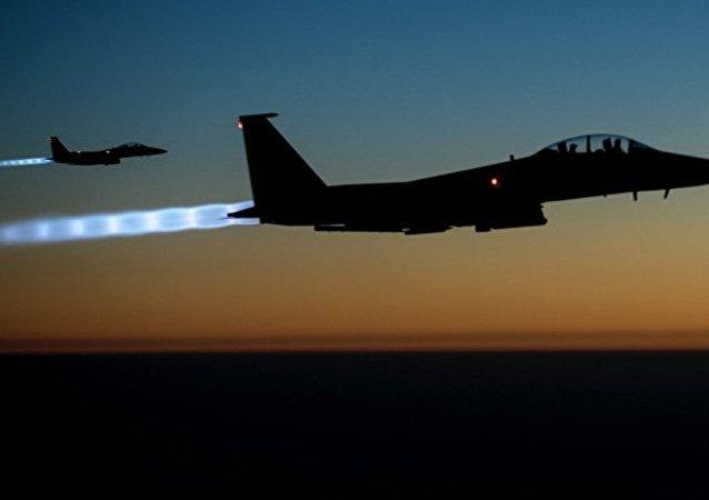 兩架美國F-15戰機因不專業誤對敘利亞庫爾德武裝實施了打擊