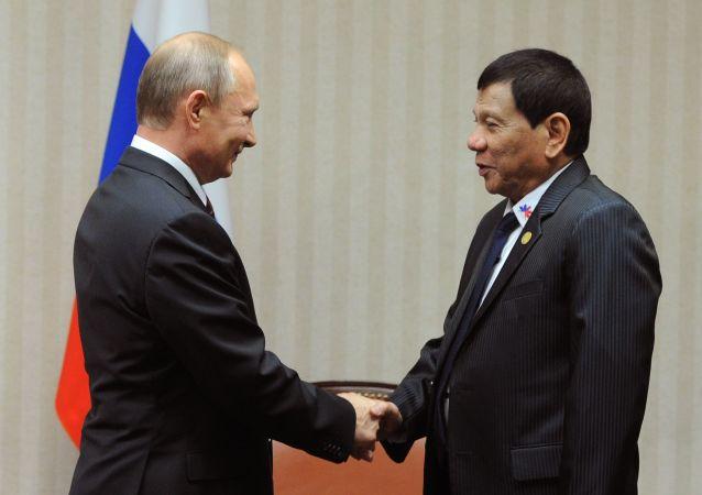 俄外交部证实菲律宾总统将于年内访俄