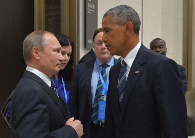 佩斯科夫证实俄美总统在利马亚太经合组织峰会期间简短交谈