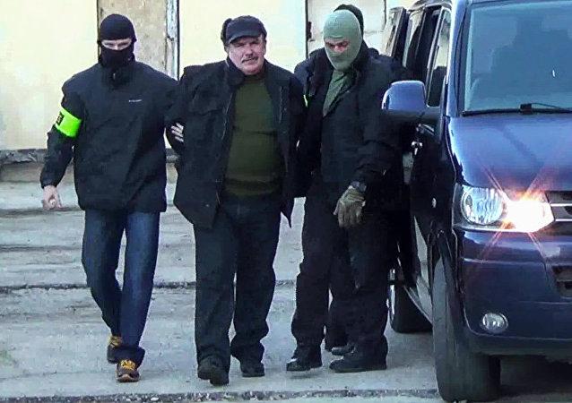 俄黑海艦隊前軍官因為烏從事間諜活動被捕