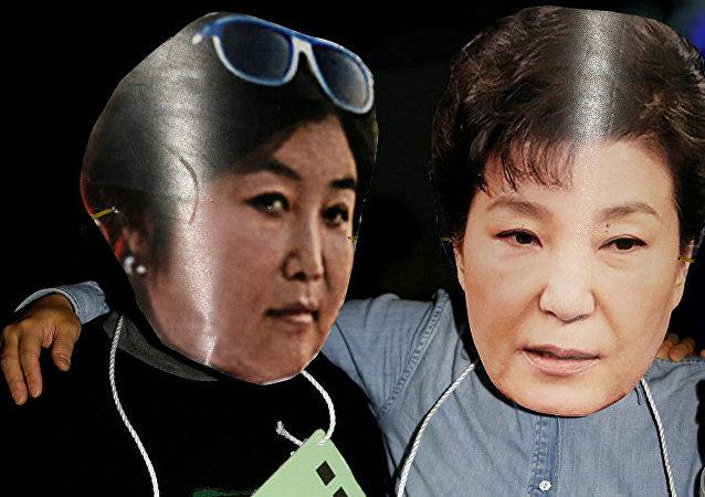 韓國檢察院對樸槿惠辦公室進行搜查
