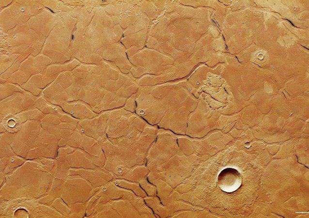 火星上發現一個神秘迷宮