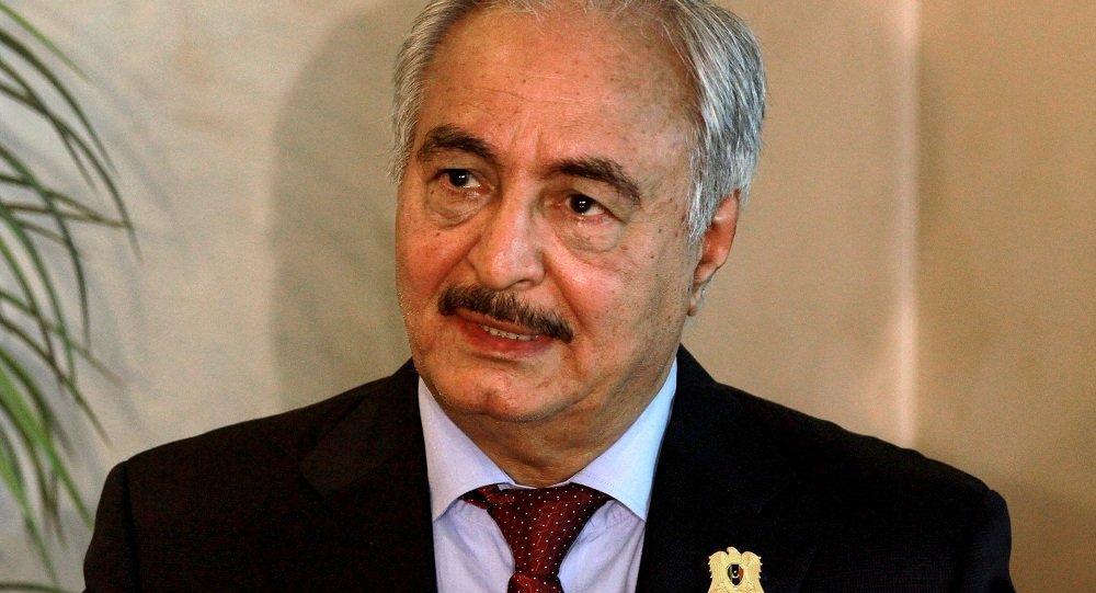 利比亞國民軍司令哈利法·哈夫塔爾