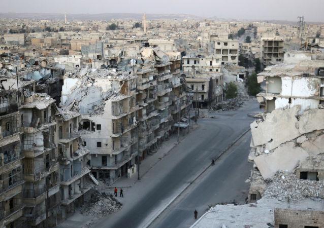 俄軍總參謀部:敘政府軍3天來解放阿勒頗東部16個街區