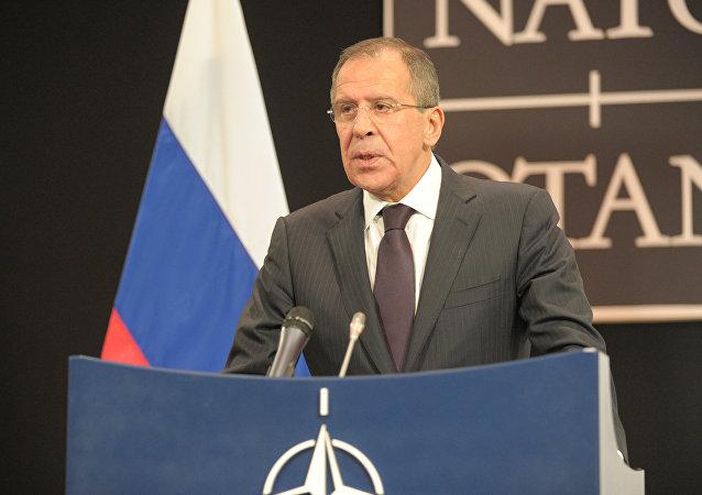 俄羅斯外長謝爾蓋·拉夫羅夫(資料圖片)