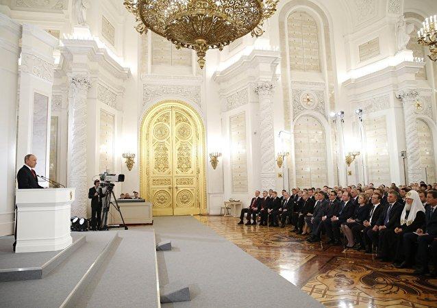 专家:普京的年度国情咨文将涉及经济、社会领域问题和对外政策