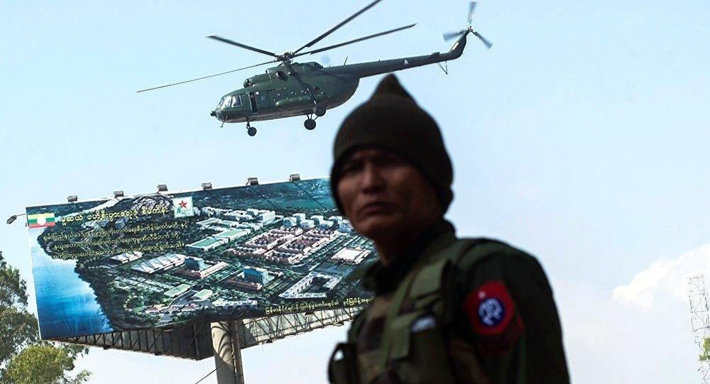 俄國防部副部長與緬甸空軍司令討論雙邊合作問題