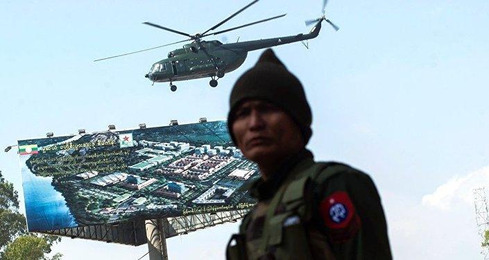中国提出在不干涉内政的原则下援助缅甸