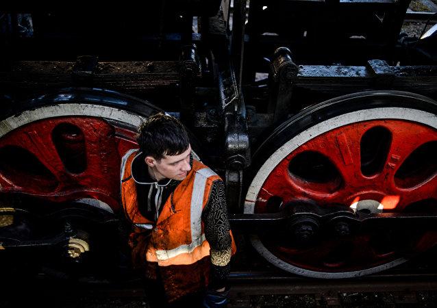 俄最大鐵路運輸博物館在聖彼得堡開放
