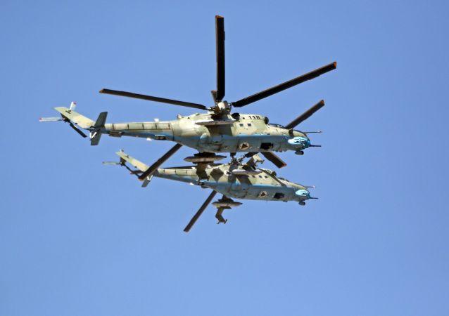 俄常驻北约代表:阿空军从俄直升机转用北约直升机并不有助于该国稳定