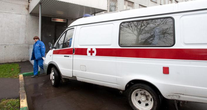 莫斯科,急救車