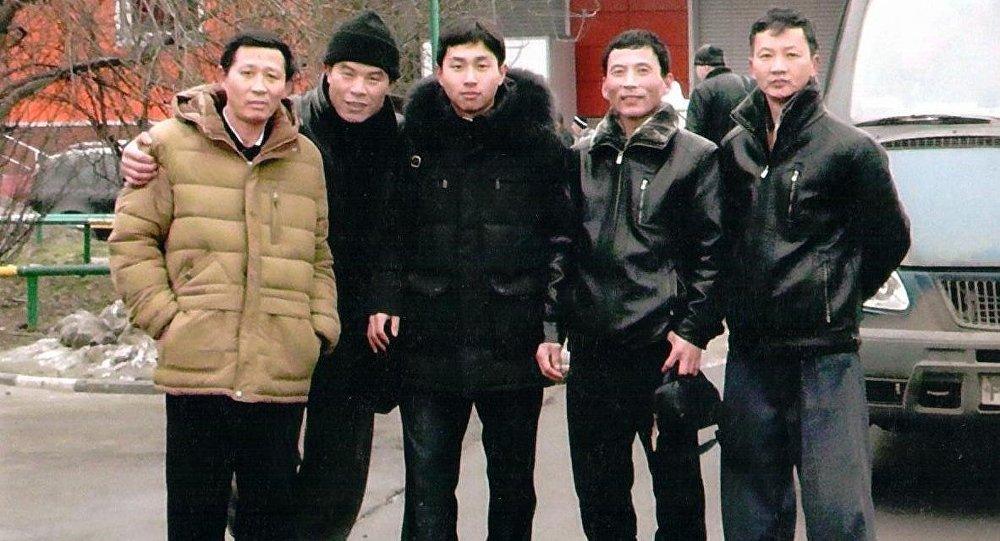 朝鲜工人在俄罗斯