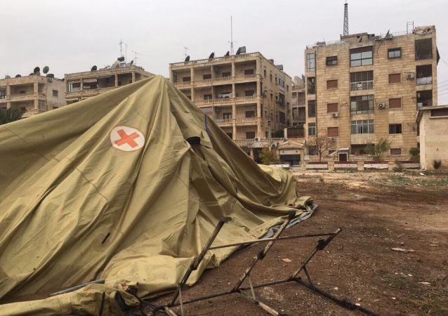 俄野戰醫院在阿勒頗