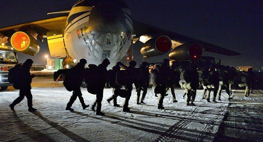 俄国防部:俄军警营从叙返回国内