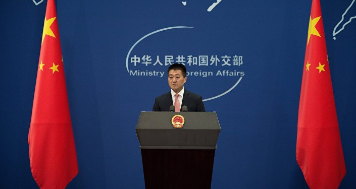 """中国外交部:中方敦促美韩停止部署""""萨德""""进程"""