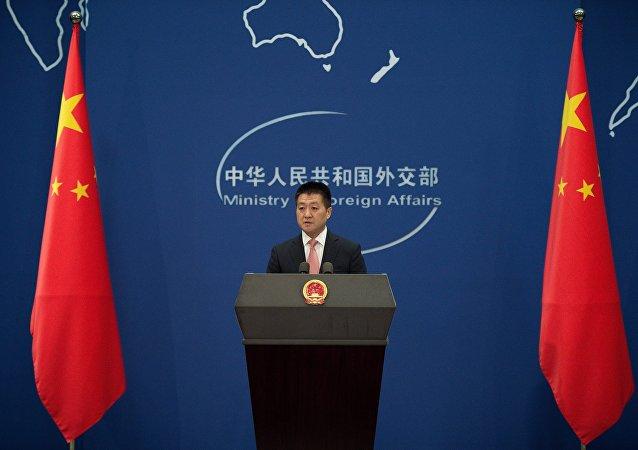 中國外交部新聞發言人陸慷