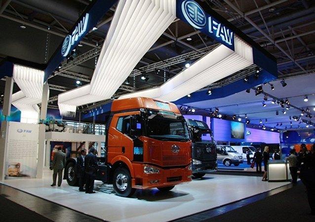 中国一汽卡车在俄销量大幅增长