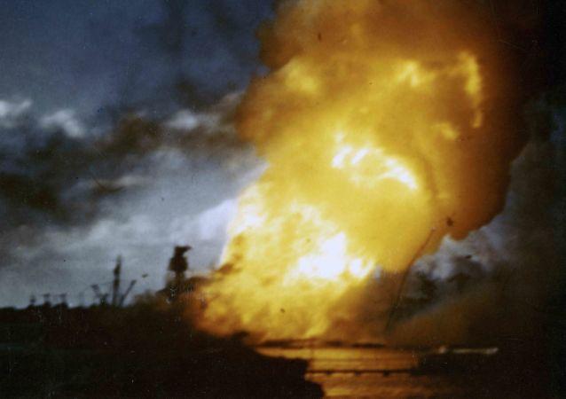 日本襲擊珍珠港,1941年12月7日/資料圖片/