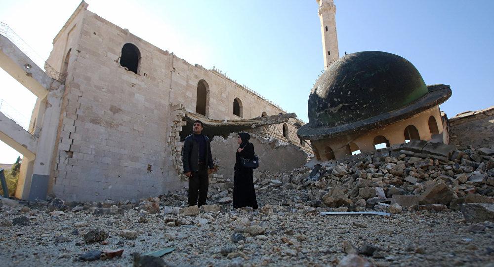 叙利亚军队已解放阿勒颇东部52个街区 控制该市93%的地区