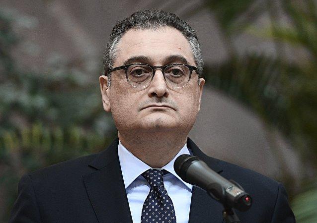 俄罗斯外交部副部长伊戈尔·莫尔古洛夫