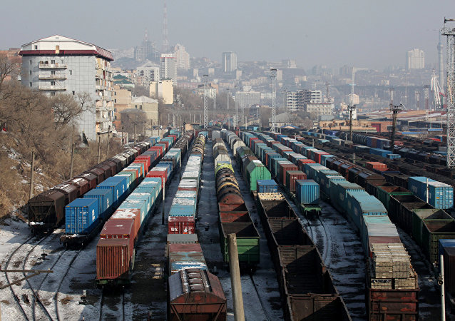 俄FESCO、Evrosib和中外运启动天津至莫斯科的蒙古线集装箱班列
