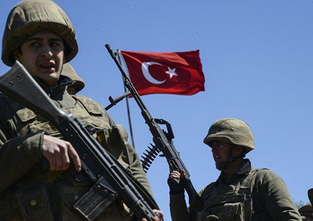 土耳其总参:土空军在伊拉克北部消灭23名库尔德工人党成员