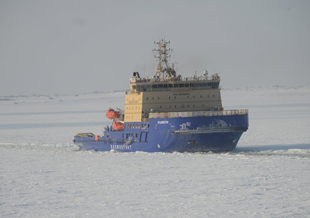 """俄符拉迪沃斯托克""""号破冰船(资料图片)"""