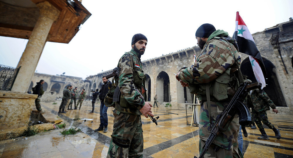 叙利亚军人