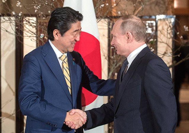 安倍稱G20峰會期間將與普京舉行會晤